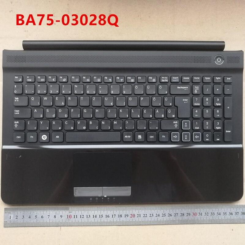 Ungheria nuovo layout di tastiera del computer portatile con il touchpad palmrest per Samsung RC510 RC520 HU BA75-03028QUngheria nuovo layout di tastiera del computer portatile con il touchpad palmrest per Samsung RC510 RC520 HU BA75-03028Q