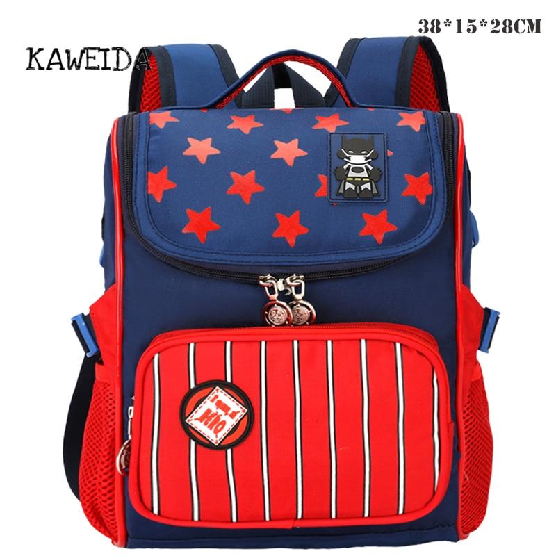 New Children school backpack Bag for Boys Girls Pupil Satchel Colorful Orthopedic Schoolbag Kids book bag Noble mochila 2018