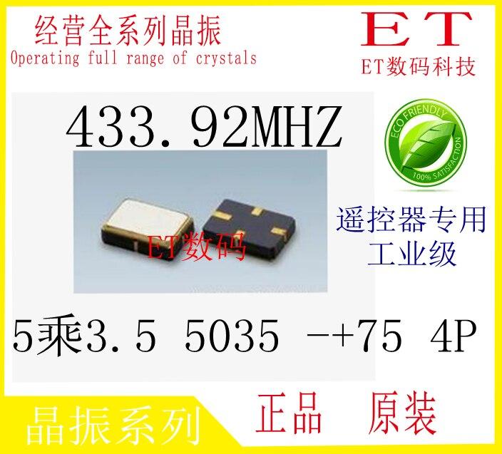 Осциллятор 1000 ./r433a SMD5035 4/5*3.5 433.92