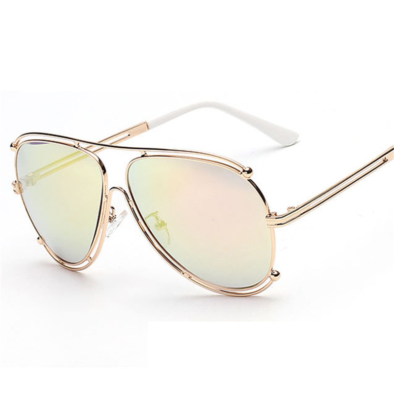 womens designer aviator sunglasses  Aliexpress.com : Buy 2016 New Fashion Women Aviator Sunglasses Men ...