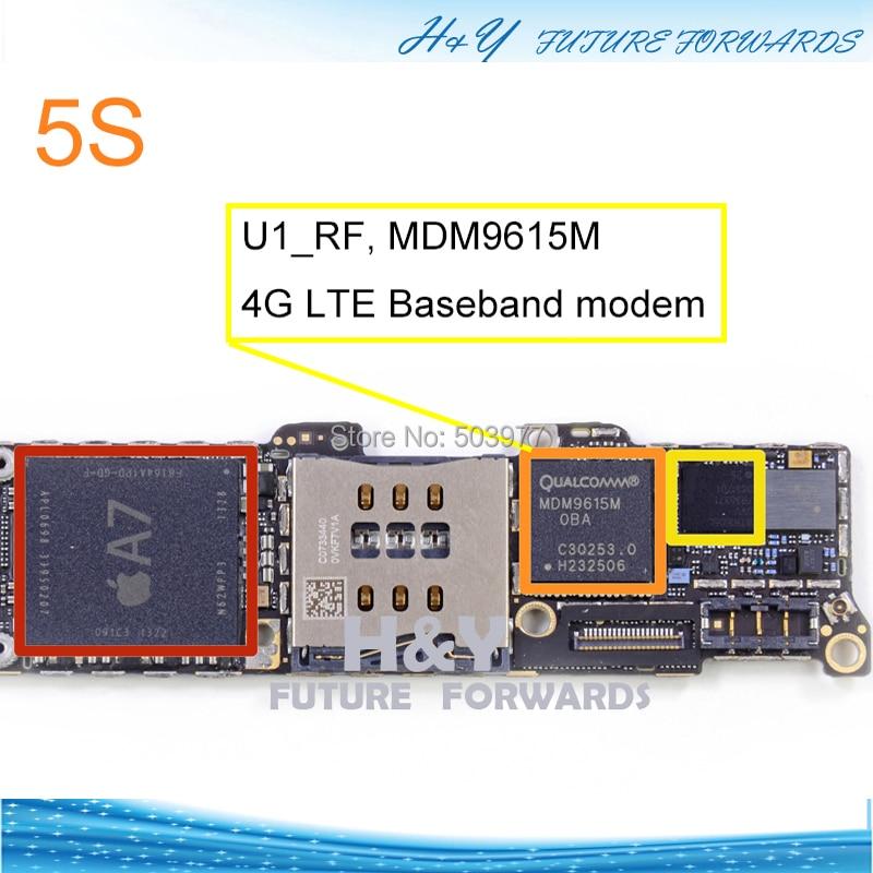 замена модема iphone 5