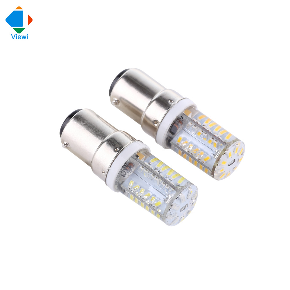 12 Volt Dc Light Bulbs: 5x B15 Led Bulb Corn Lamp Ac/Dc 12 Volt Silicone Light