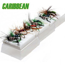 96Pcs Lifelike Flies For Fishing Pesca Bait Artificial Mosquitoes Style Fly Fishing Lure Hooks Fishing Tackle with retail box