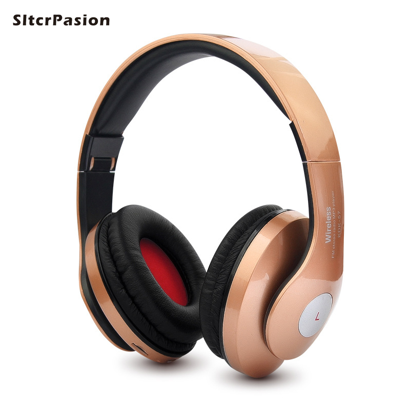 SltcrPasion Fone de Ouvido Support de Casque Audio Audifonos Bluetooth Headphones Mic Wireless Gaming Headset Cuffie Auriculares