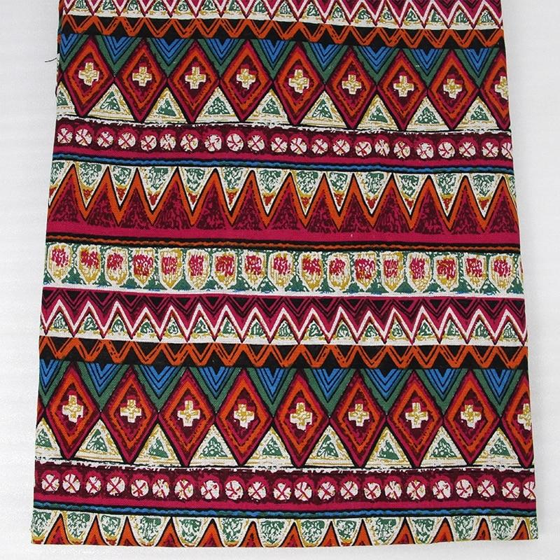 50*147 CM tela de algodón para Niños Tejido de Lino ropa de Cama textil para el