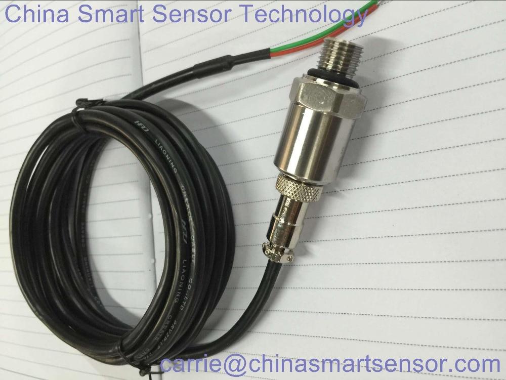 Pressure Transducer For Air Compressor 16 Bar Range 4~20mA Output 24VDC Power Supply Air Compressire Pressure Sensor цена
