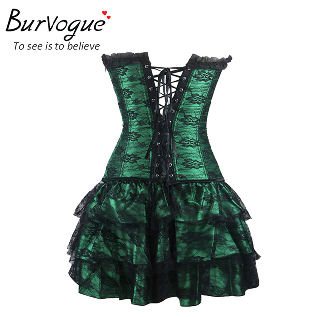 Corset and Bustier Lace Evening Women Casual Dress