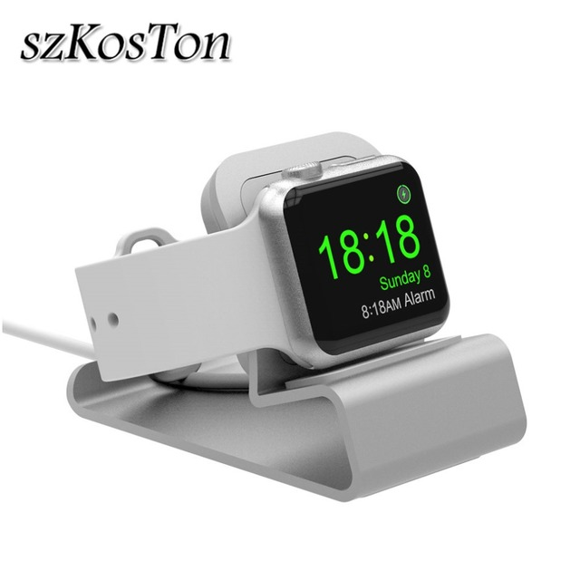 Charger Stand Holder Dock For Apple Watch 1 2 3 4 38mm 42mm 44mm 40mm Aluminum Bracket Charging Cradle Stand for iWatch Sport