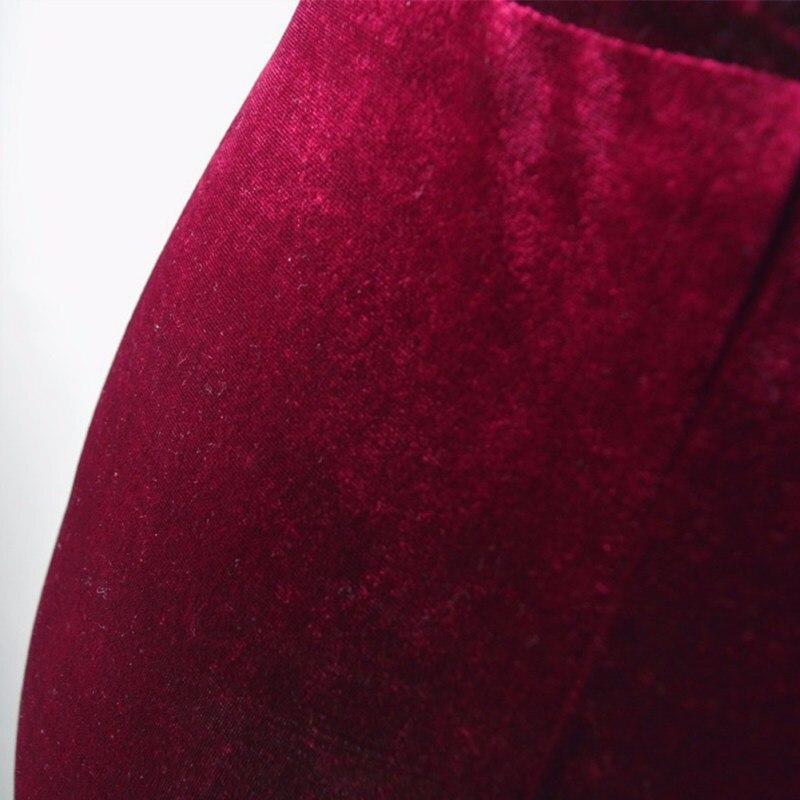 S-XL Women Shorts  Velvet Drawstring Shorts High Waist Autumn Winter Sexy Elegant Skinny Shorts