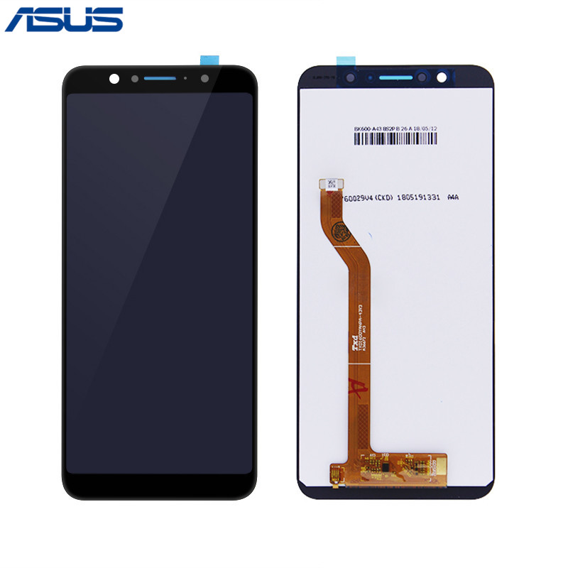 <font><b>Asus</b></font> Original <font><b>ZB601KL</b></font> ZB602KL LCD Display Touch screen digitizer Assembly For <font><b>ASUS</b></font> Zenfone Max Pro <font><b>ZB601Kl</b></font> M1 ZB602KL LCD Screen image