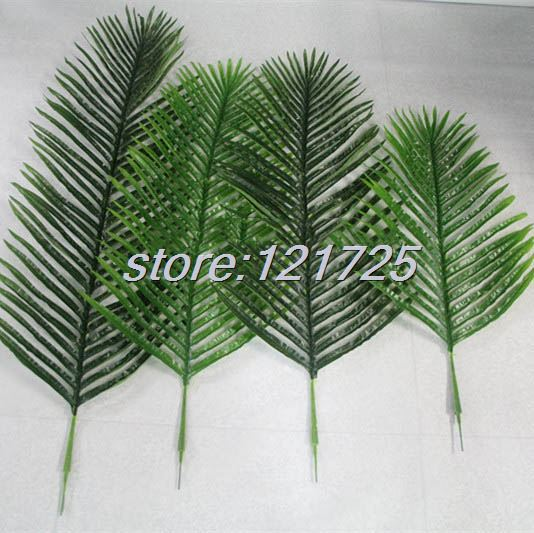 Aliexpress Diy Artificial Palm Tree Plant Leaf Branches Fake Foliage Green Wedding Home Decor Outdoor From Reliable Decoration