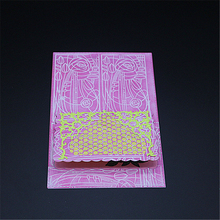 AZSG Border lace Metal Cutting Mold DIY Scrapbook Album Decoration Supplies Clear Stamp Paper Card