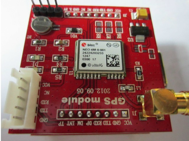 51 microcontroller GPS module development board original NEO-6M U-BLOX microcontroller