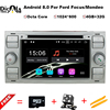 2din Android 8 0 DAB Car DVD Player In Dash For Ford Transit Focus Connect S