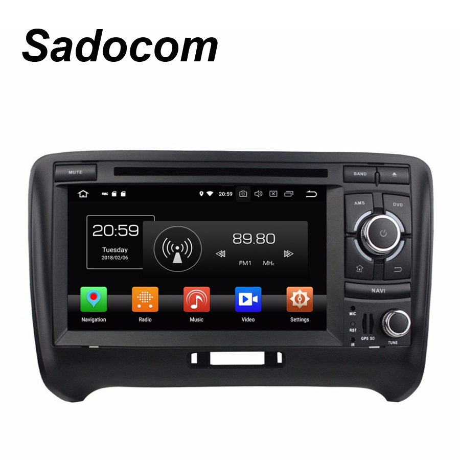 TDA7851 Android 8 0 For Audi TT 2006 2013 4GB RAM Car DVD Player Wifi 4G