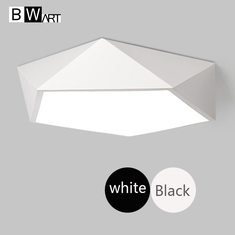 BWART Modern led ceiling lights for living room bedroom Plafon home Lighting ceiling lamp home lighting fixtures new modern led ceiling lights for living room bedroom plafon home lighting combination white and black home deco ceiling lamp
