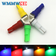 WMMWMD 1pcs T5 74 1 SMD 5050 LED light Car Auto Light Source Interior Dashboard Bulb