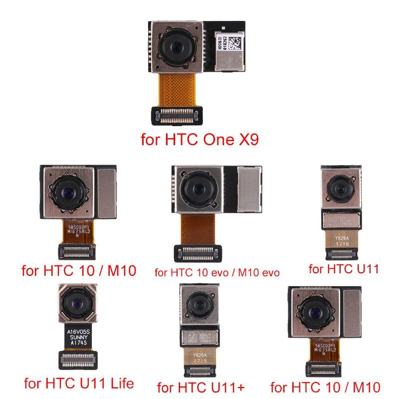 Novo para HTC One X9/10 M10/10 evo/M10 evo/U11/U11 Vida/ u11 Olhos/U11 + Câmera Traseira Módulo de Substituição de peças de reparo