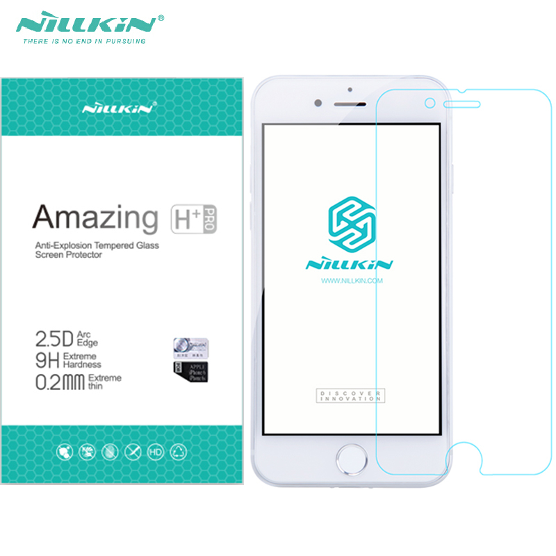 Nillkin H/H + PRO Glasabdeckung Film Für Iphone7 Iphone 7 Plus Gehärtetes Glas Screen Protector Nano Beschichtet