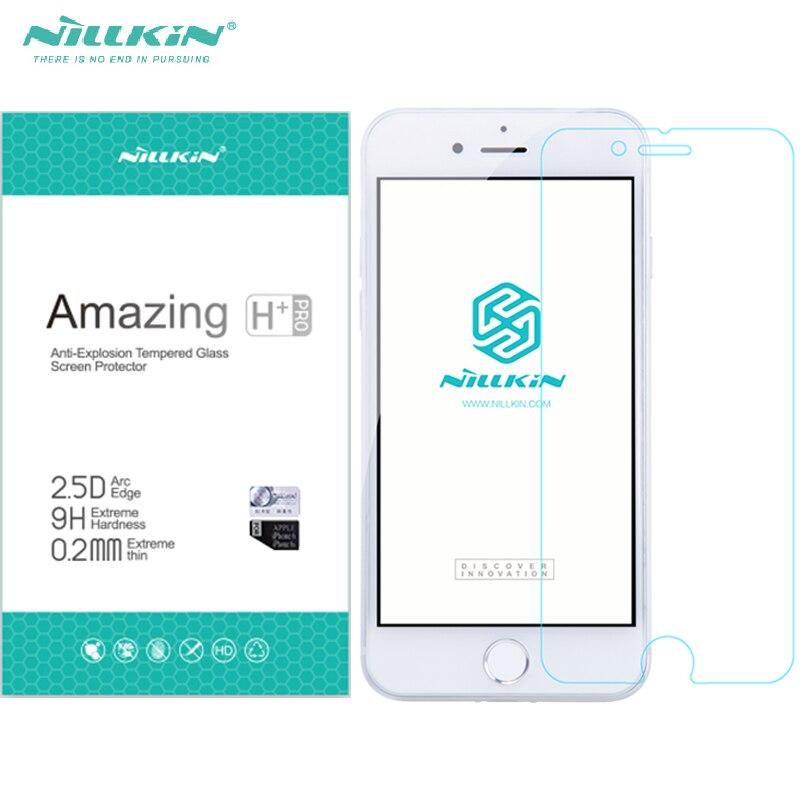 Nillkin H/H + PRO Couvercle En Verre Film Pour Iphone7 Iphone 7 Plus Trempé Protecteur D'écran En Verre Nano Enduit