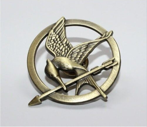 The Hunger Games Movie Brooch New!