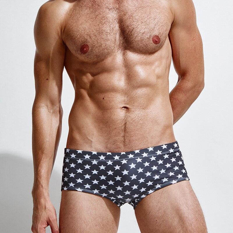 Stars Beach Bikini Swimwear Men Swimming Trunks Bathing Shorts Board Sport Suit Swimsuit Man Swim Wear Boxer Underwear M- XL XXL