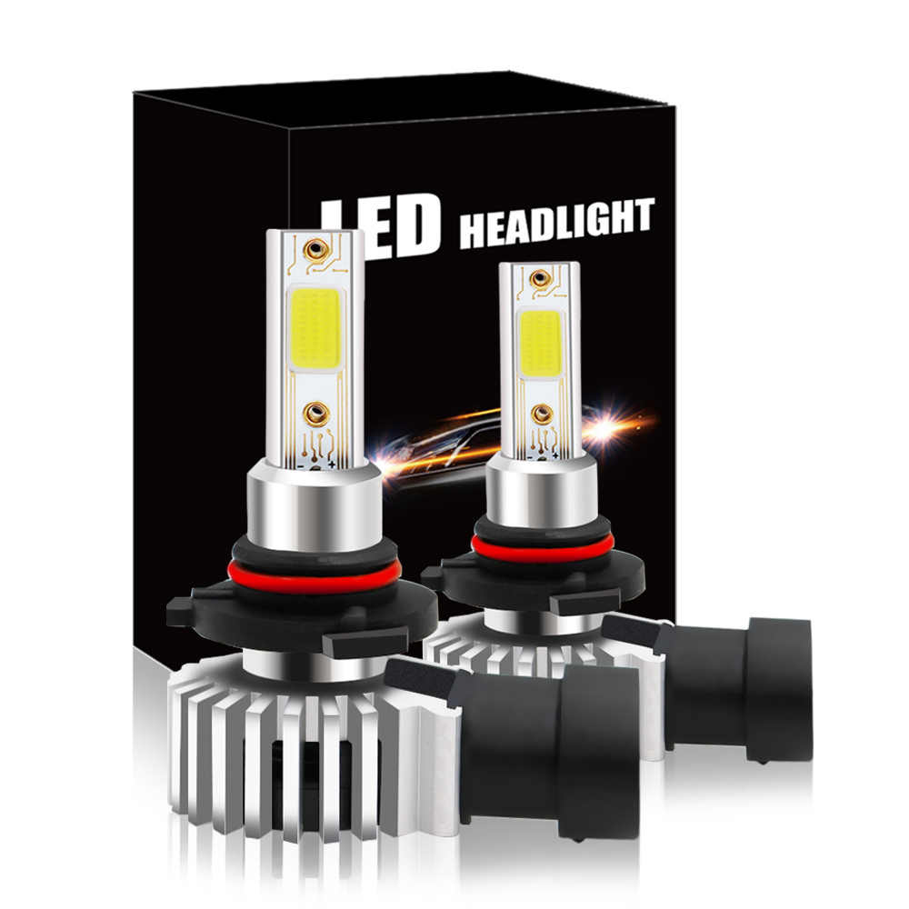 2019 New D9 Car Led Headlight Bulbs 6000K 26000LM Model H1/H3/H4/H7/H11/9005/9006/9012 for Automobiles Headlamp