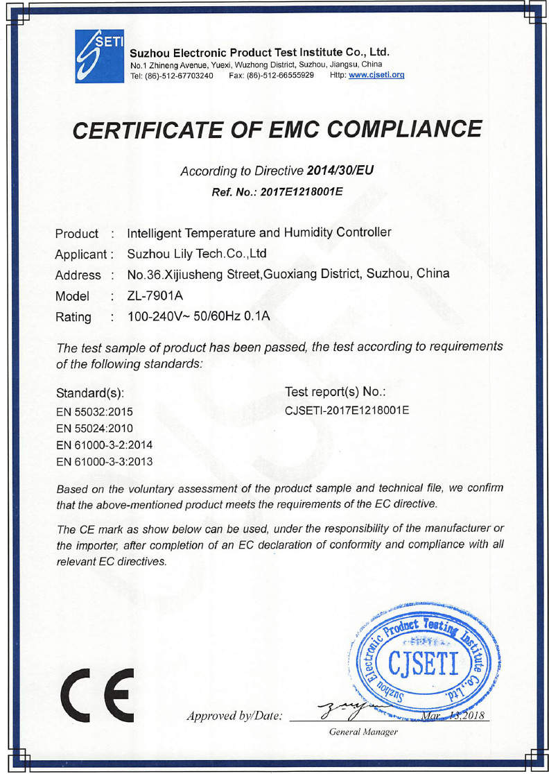ZL-7901A EMC LONG