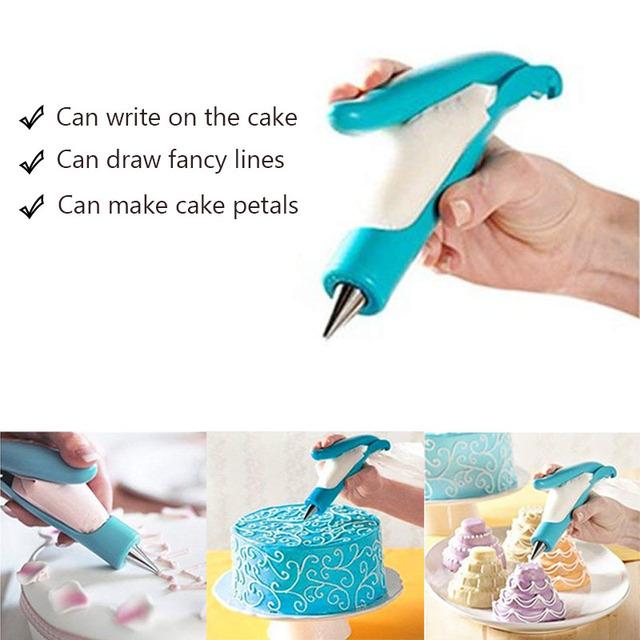 1Pcs/set Deco Icing Pen Nozzle Set