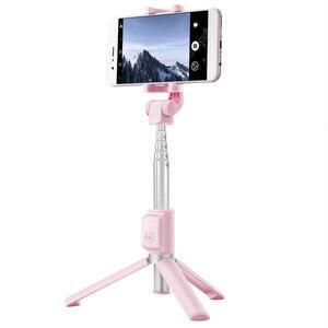 Image 2 - 원래 화웨이 명예 AF15/프로 블루투스 Selfie 스틱 삼각대 휴대용 무선 제어 Monopod 핸드 헬드 iOS/화웨이/Xiaomi