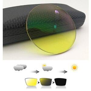 Image 4 - 1.56 Driver Yellow Glasses LensPhotochromic Anti blue light Myopia Astigmatism Optical Prescription Resin Lens Night vision