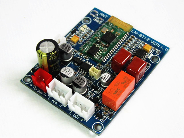 CSR4.0 bluetooth audio receiver non-destructive HiFi module DIY8645 chip