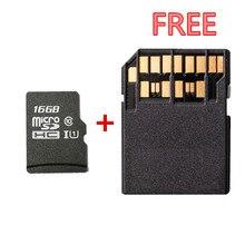 Toptan!! Yüksek Hız, 16 GB Mircosd Kart TF Hafıza Kartı 16G Micro SDHC Kart ÜCRETSIZ Standart 4.0 SD Adaptörü ILE