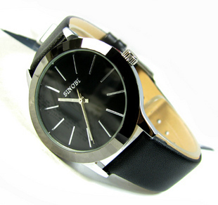 Free shipping  SINOBI brand original delicate strap neuter temperament contracted quartz watch