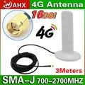 16dBi 4 Г Антенна SMA RP-SMA разъем 3 м кабель для 4 Г LTE Модем 1805-1880 мГц/2500-2570 мГц/2620-2690 мГц
