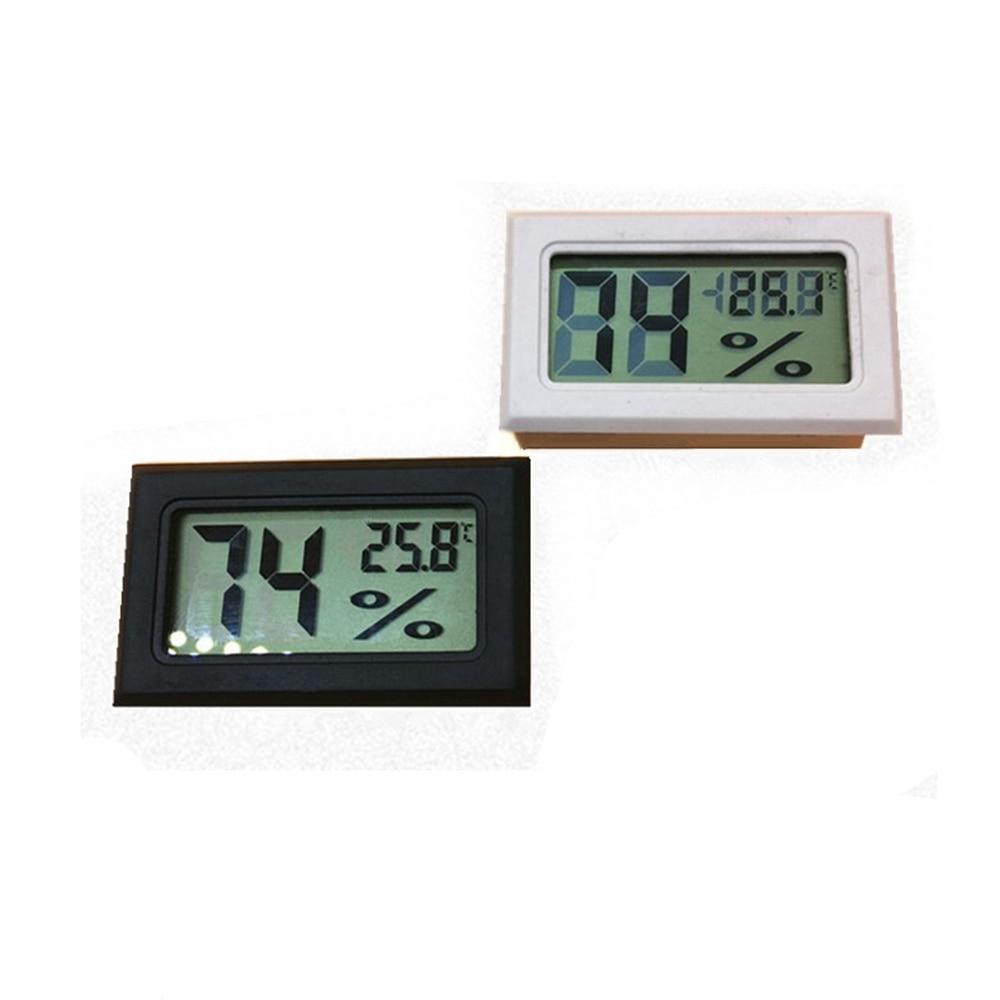 1PCS MiNi Digital LCD Indoor Tent Convenient Temperature Sensor Tomato Potato Growth Hygrometer Thermometer Humidity Meter