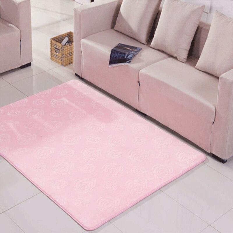 2017 Moderne Teppich Waschen Druck Rose Samt Wohnzimmer Nacht Benutzerdefinierte Decke Niedliche FesteChina