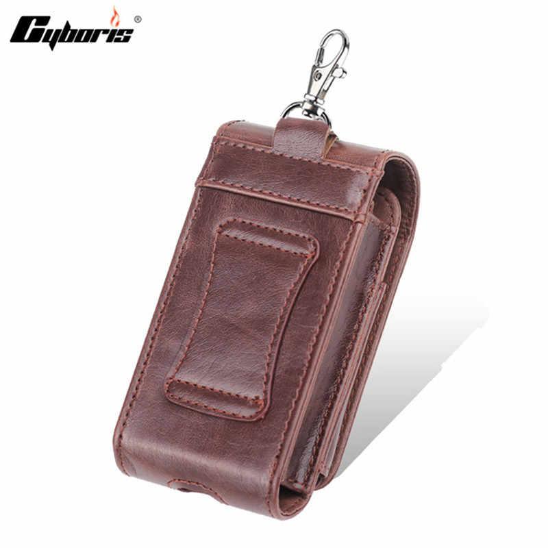 CYBORIS универсальная электронная сигарета Роскошный pu кожаный чехол поясная сумка для чехол для электронной сигареты с ремешком для iQOS