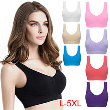 Push up Bra Plus Size Bras Women Top Padded Wireless Brassiere BHD2