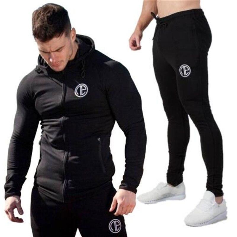 Trajes para hombres trajes deportivos trajes sudaderas con capucha para hombres ropa deportiva informale con cremallera chaqueta
