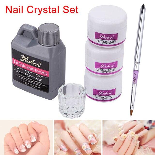 High Quality Hot Sale Acrylic Nail Art DIY Kit Liquid Powder Clear ...