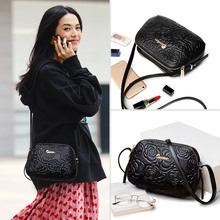2019 new Fashion Genuine leather purse women messenger bag ZOOLER Luxury crossbody Small shoulder bags pattern tote bag#2355
