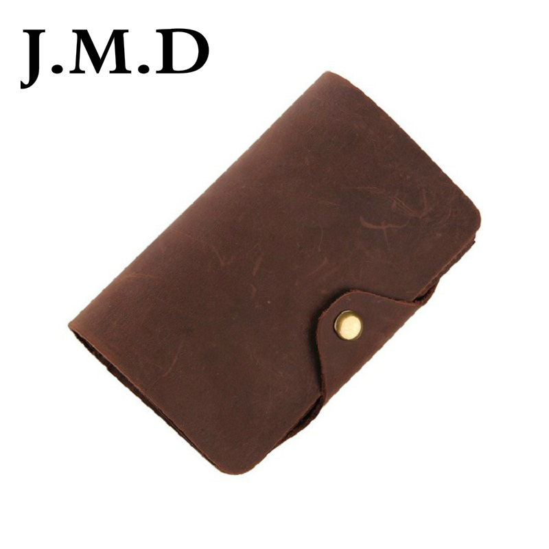 J.M.D 2019 New Arrival 100% Men's Fashion Leather Wallet Head Layer Cowhide Wallet Long Paragraph Wallet 8033(China)