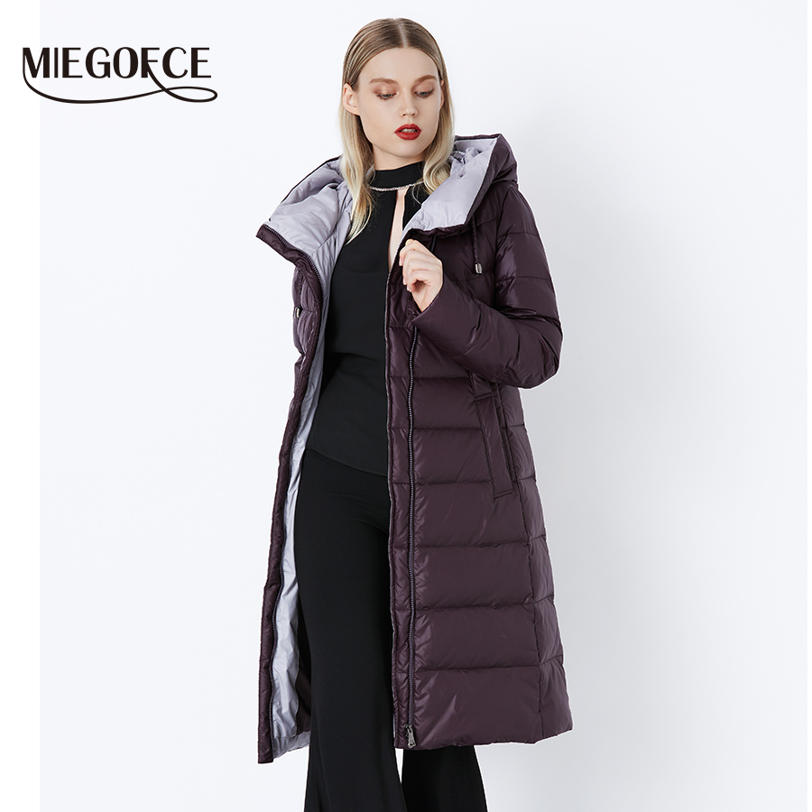 Blue Deep 201 Femelle Parkas 605 Qualité De Army Miegofce Parka Capuchon 707 Veste 710 Nouvelle Dark Chaud À Chaude Hight Grey Black Fluff Collection Bio 2018 Femmes Manteau 901 Purple Green Hiver wHqgB