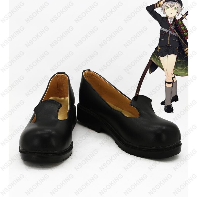 New Game Touken Ranbu Online Hotarumaru Cosplay Boots Anime Shoes Custom Made