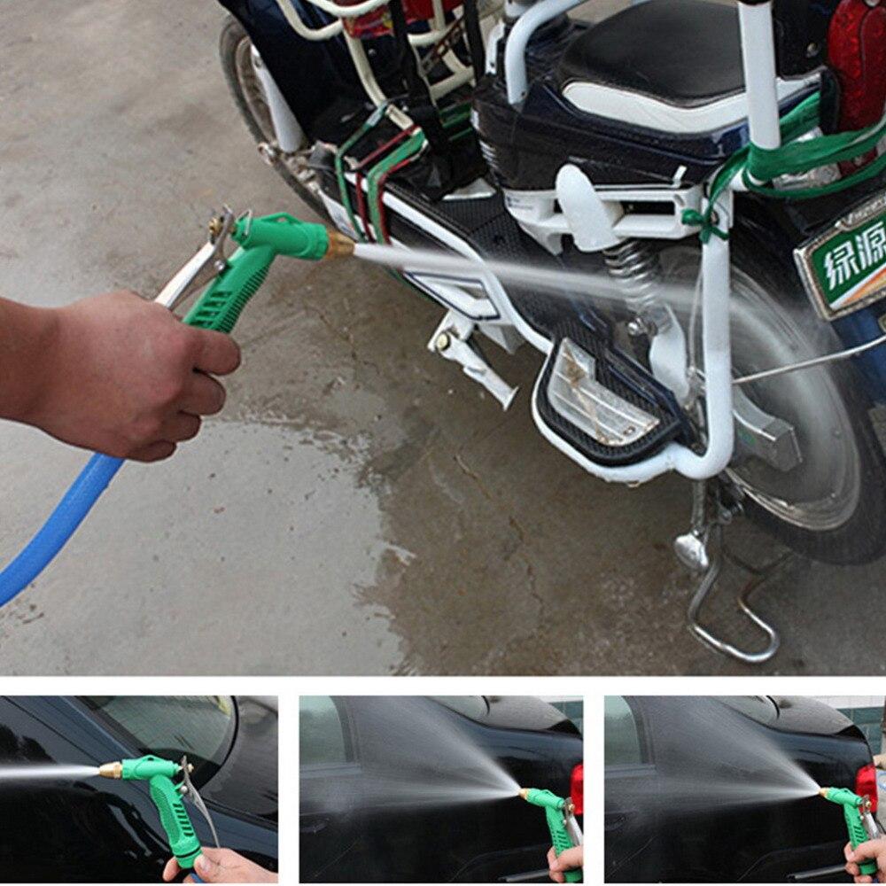 Image 2 - 2018 New Copper Adjustable High Pressure Car Washing Water Gun Head Garden Household Washing Cleaning Machine Tool Accessories-in Garden Water Guns from Home & Garden
