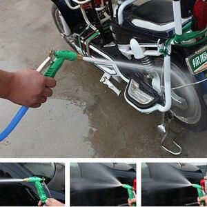 Image 2 - 2018 yeni bakır ayarlanabilir yüksek basınçlı araba yıkama su tabancası kafa bahçe ev yıkama temizlik makinesi aracı aksesuarları