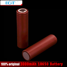 New 18650 3000mAh battery 3.6V discharge 20A Rechargeble Battery 18650 for electronic cigarette Mods 1pcs or 2 pcs