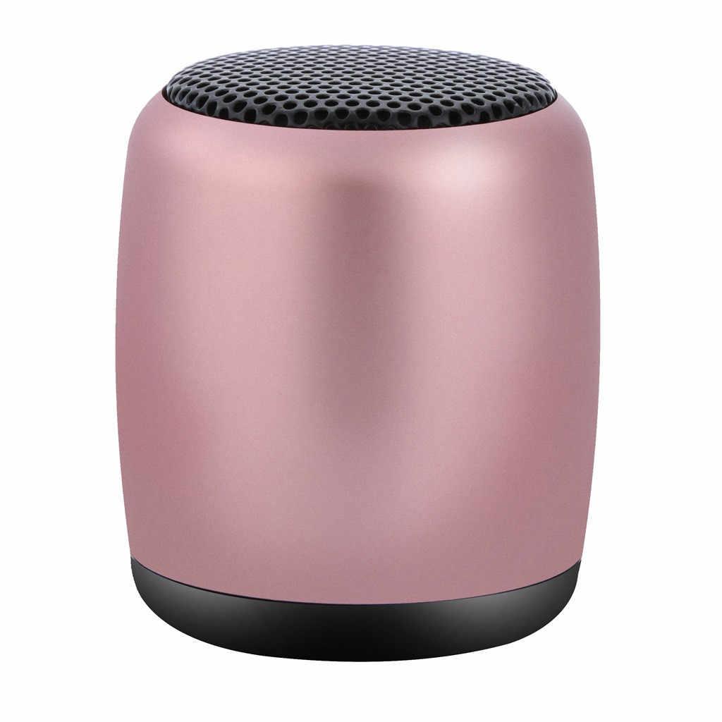 באיכות גבוהה מיני נייד Altavoz Bluetooth + FM MP3 אלחוטי 3 צבעים טעינת רמקול מוסיקה סאב SuperBass סטריאו Soundbar