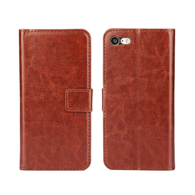 Crazy Horse Pattern Wallet Flip Cover Case för iPhone XS Max / XR / - Reservdelar och tillbehör för mobiltelefoner - Foto 1